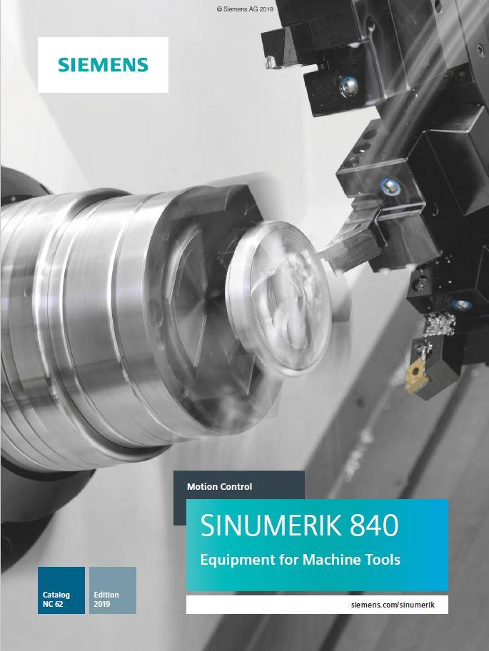 Siemens Catalog NC 62 - 2019