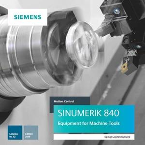 Siemens Catalog NC 62 – 2019